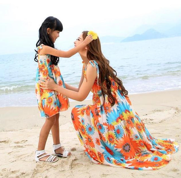 Mother&Daughter Dress14