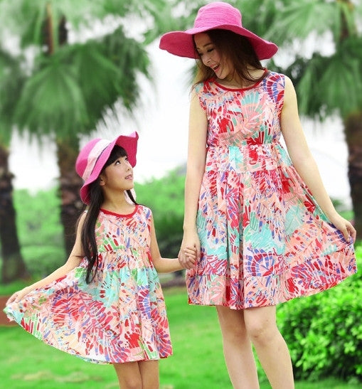 Mother&Daughter Dress21