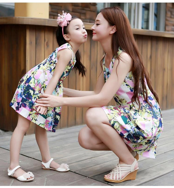 Mother&Daughter Dress2