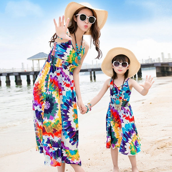 Mother&Daughter Dress11