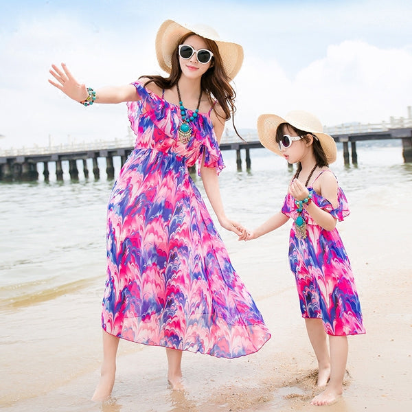 Mother&Daughter Dress1