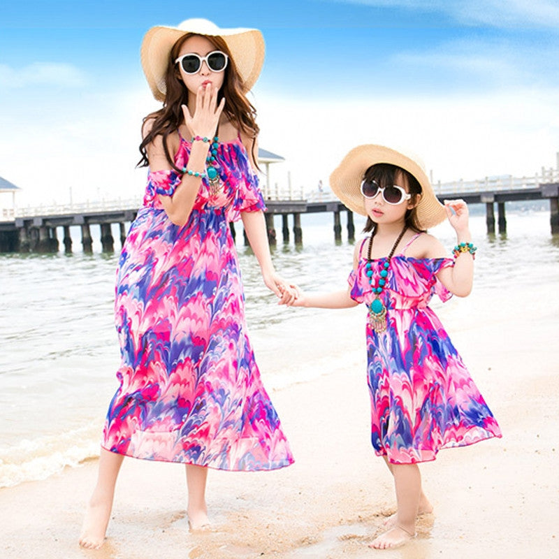Mother & Daughter Dress 1