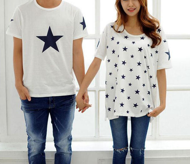Couple's Matching Shirt Set