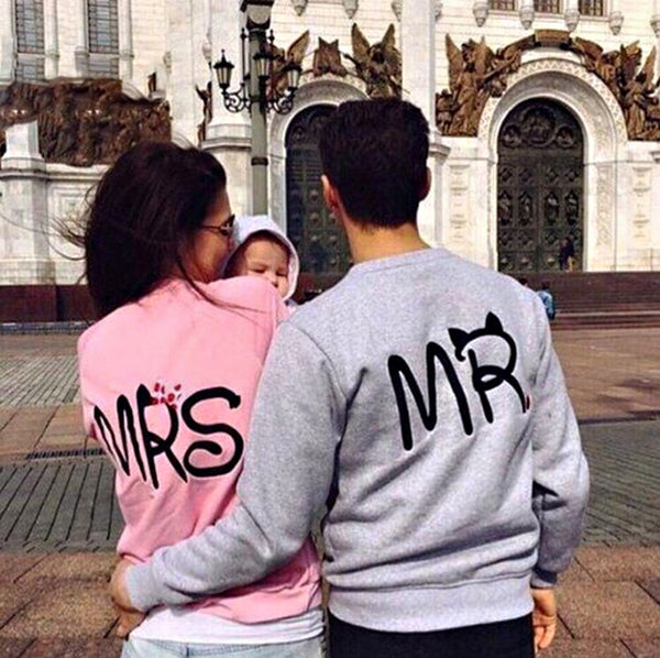 Mr. & Mrs. Couple Sweatshirt