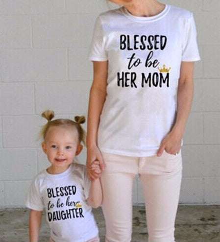 Mother & Daughter T-Shirts