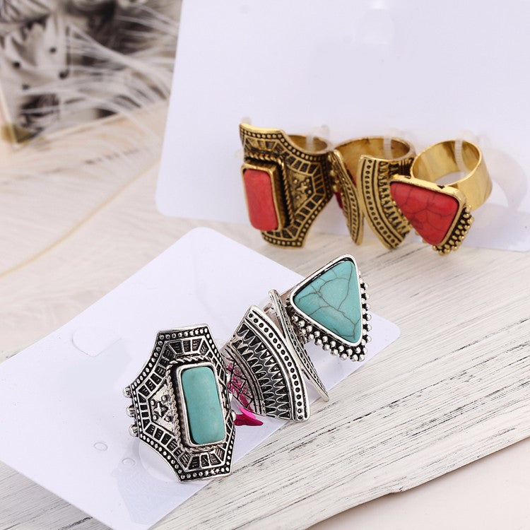 3pc Set Vintage Rings