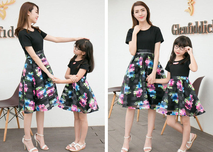 Mother&Daughter Dress10