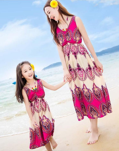 Mother&Daughter Dress16
