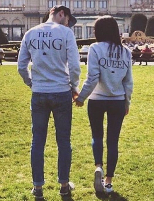 The King & His Queen Couple Sweatshirt