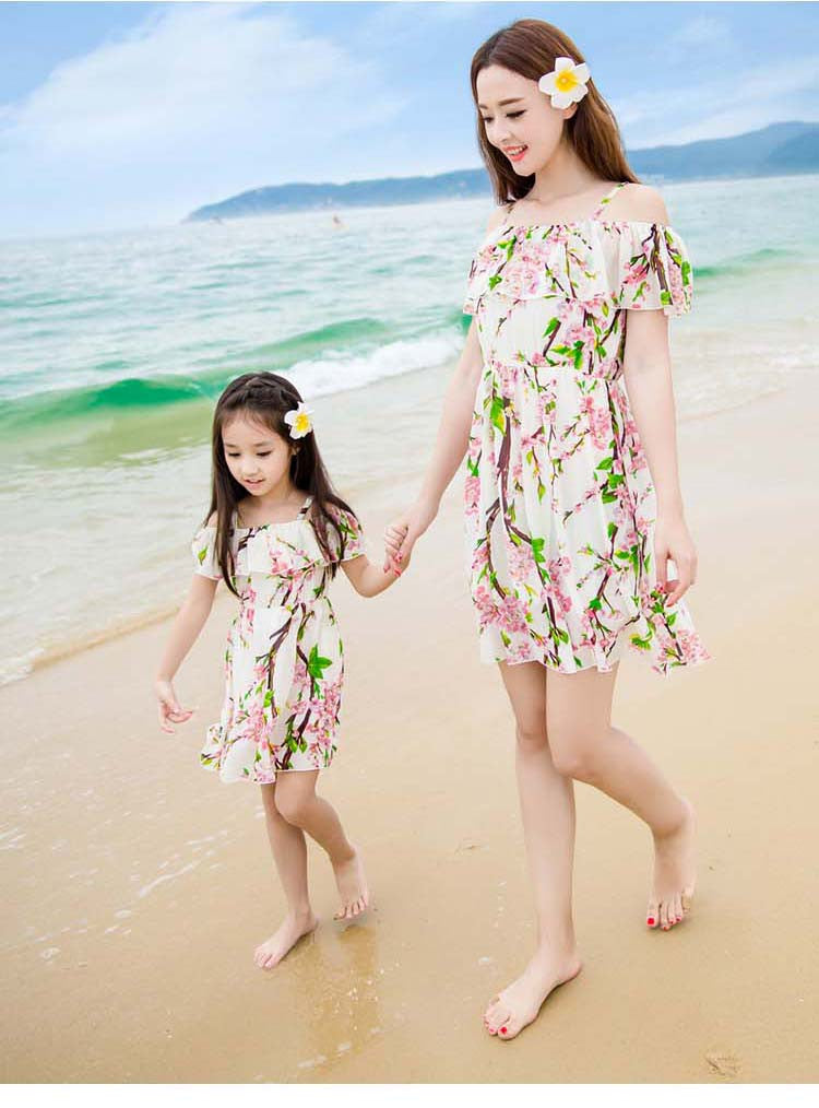 Mother&Daughter Dress13