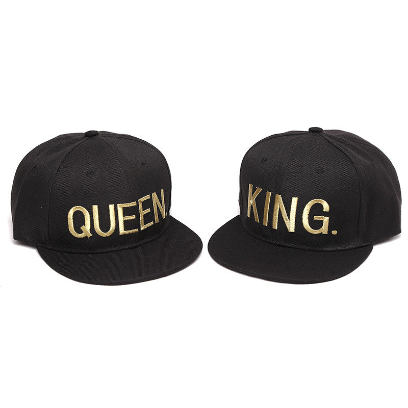 King & Queen Snapback Hat 3