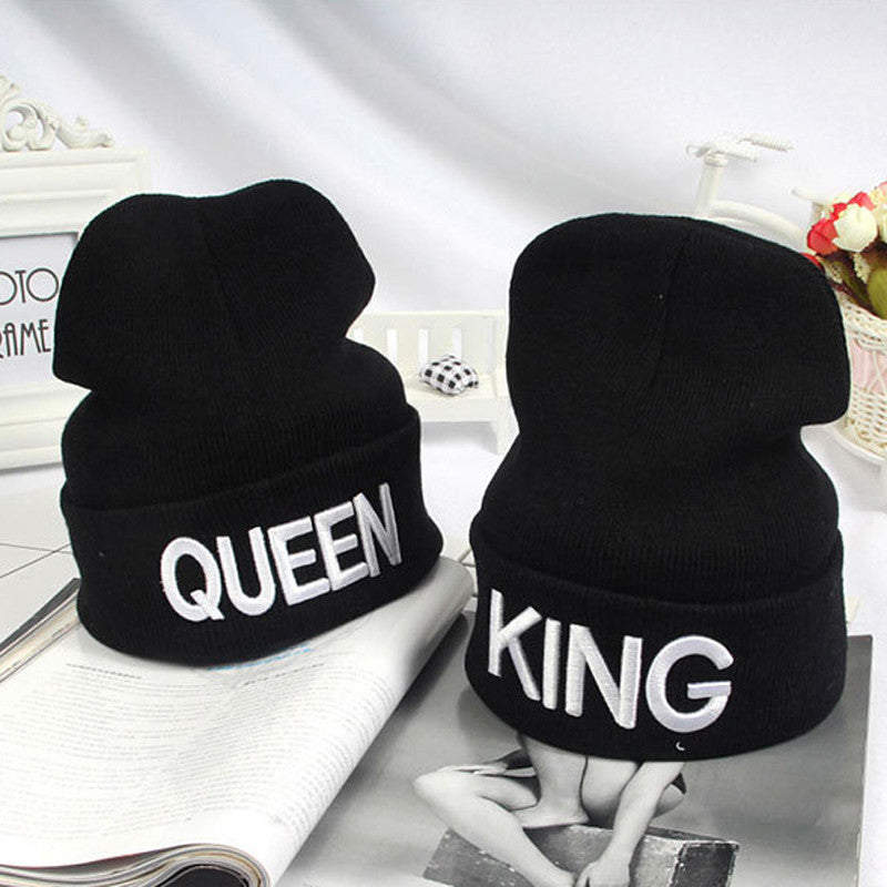King & Queen Beanie
