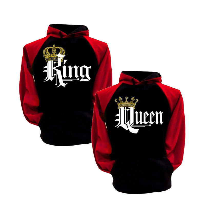 King & Queen Couple Sweatshirts 2
