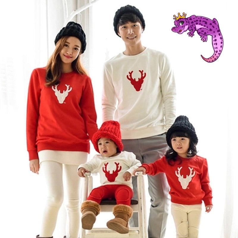 Family Matching Christmas Dear Sweater