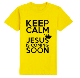 Keep Calm Jesus Is Coming Soon T-shirt