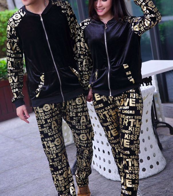 Couple's Casual Sports Set