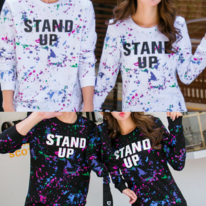 Couple's Stand Up Sweater Set