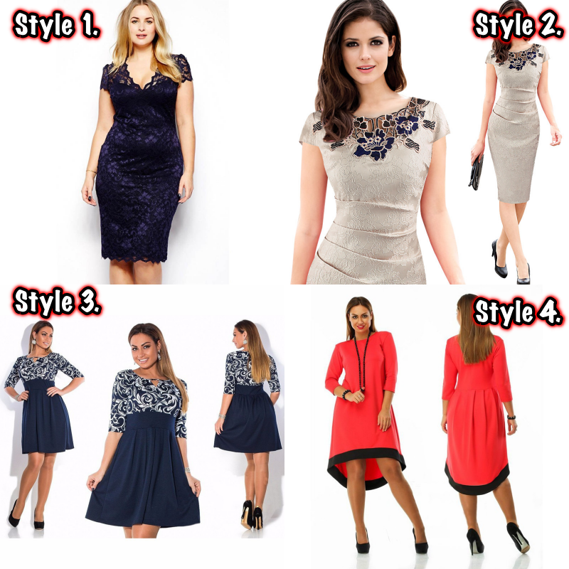 "FREE Shoes With Plus Size Dress ""Limited Time Offer""2"