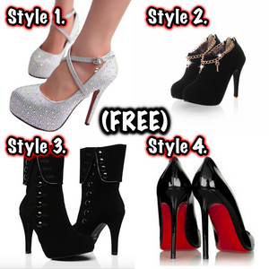 "FREE Shoes With Purchase Of Dress. ""Limited Time Offer"""