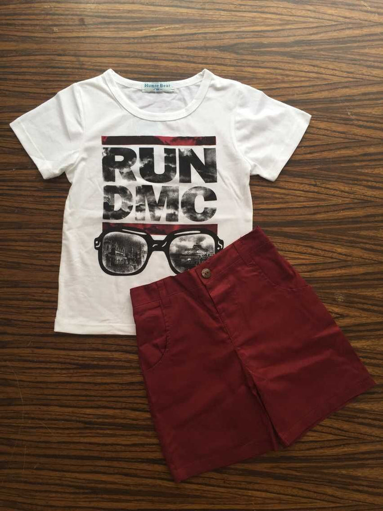Run DMC 2pc Set