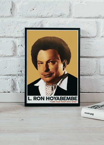 The Eric Andre Show - The Eric Andre Show - L. Ron Hoyabembe - 12x18 Art Print - KippCreations