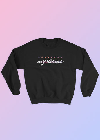 Aesthetic Fashion - Unsolved Mysteries Logo