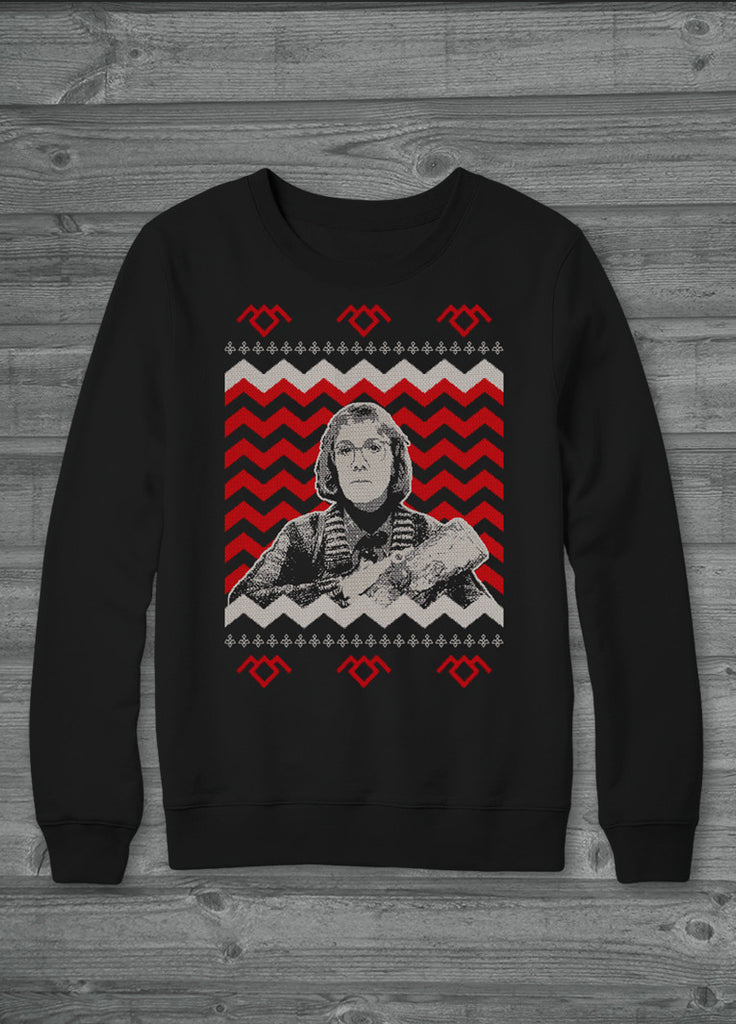 Twin Peaks Log Lady Ugly Christmas Sweater Kippcreations
