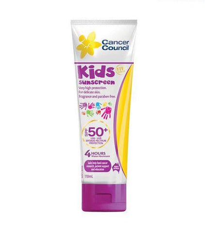 兒童呵護防曬乳 - Cancer Council Kids Sunscreen 110ml