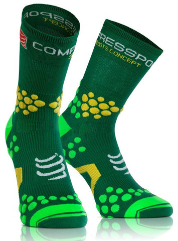 行山襪 (高筒) - Compressport V2.1 Trail Hi Sock