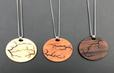 Electrocuted Wood Pendant - Andalog