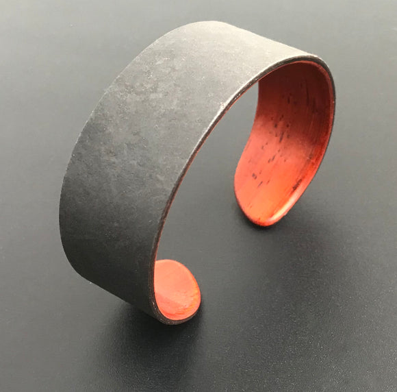 Slate Stone and Padauk Wood Bracelet - Andalog