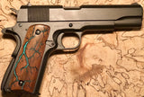 Electrocuted 1911 Pistol Grips with Inlay - Made to Order - Andalog