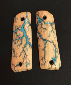Electrocuted Pistol Grips with Inlay - Andalog