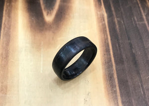 Custom Ebony Wood Ring - Andalog