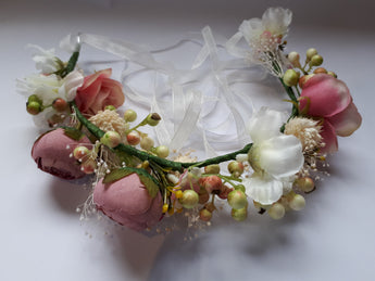 Silk flowers headband - Southern Cross Beauty