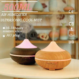 500ml Essential Oil Aroma Oils Diffuser | Electric Aromatherapy Mist Humidifier