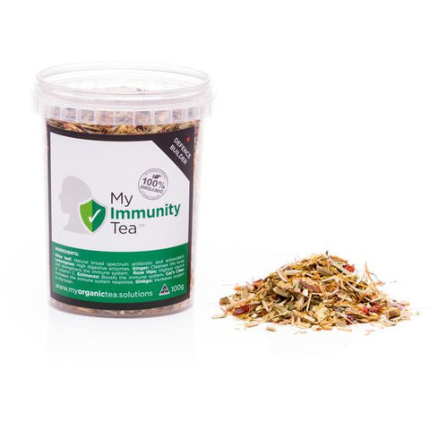 Immunity Loose Leaf Organic Tea - Southern Cross Beauty