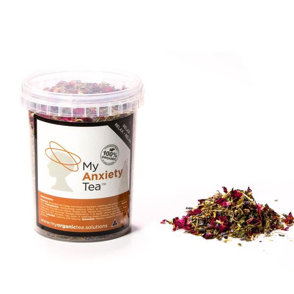 Anxiety Loose Leaf Organic Tea - Southern Cross Beauty