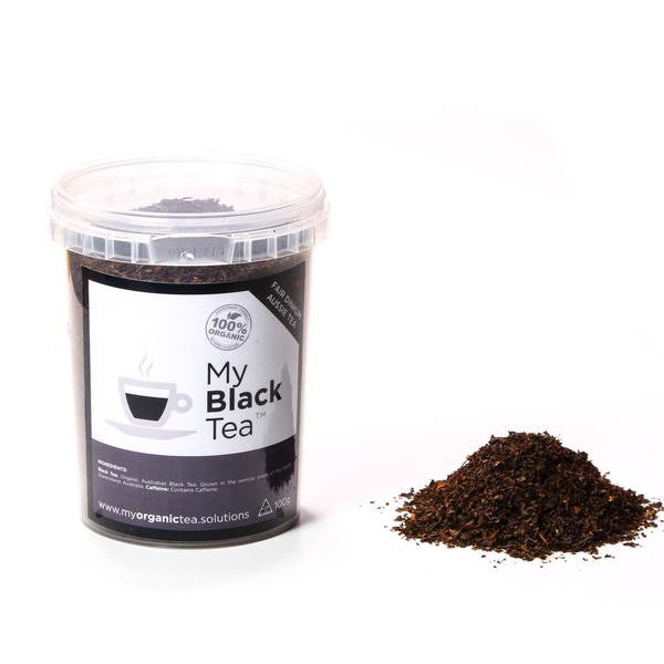 Black Loose Leaf Organic Tea - Southern Cross Beauty