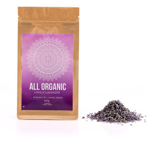 Lavender Loose Leaf Organic Tea 50g - Southern Cross Beauty