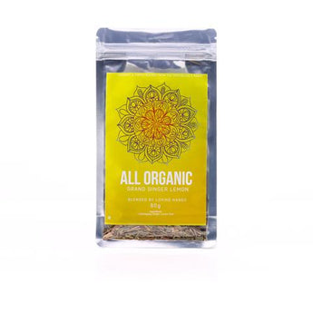 Ginger Lemon Organic Loose Leaf Tea 80g - Southern Cross Beauty