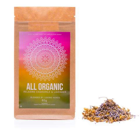 Chamomile & Lavender Loose Leaf Organic Tea 50g - Southern Cross Beauty