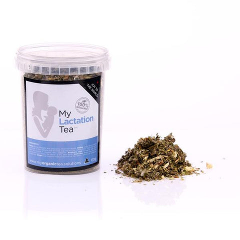 Breastfeeding Lactation Loose Leaf Organic Tea - Southern Cross Beauty