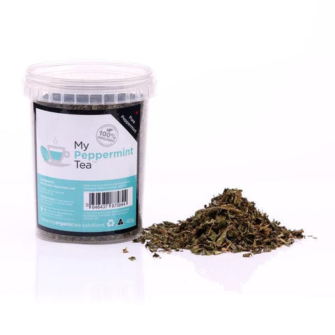 Peppermint Loose Leaf Organic Tea - Southern Cross Beauty