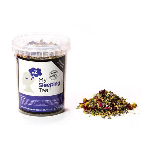 Sleeping Loose Leaf Organic Tea - Southern Cross Beauty