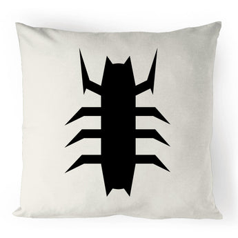 Iron Symbiote Spider - 100% Linen Cushion Cover