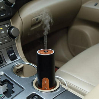 Essential Oil Aroma Diffuser | USB Or Car Lighter Plug Portable 50ml