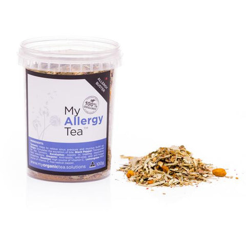 Allergy Hayfever Loose Leaf Organic Tea - Southern Cross Beauty