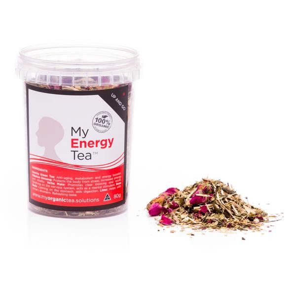 Energy Loose Leaf Organic Tea - Southern Cross Beauty