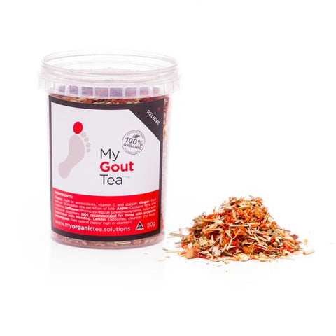 Gout Organic Loose Leaf Tea - Southern Cross Beauty